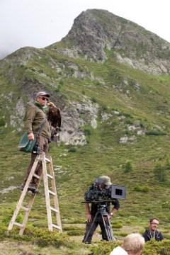Ein Blick hinter die Kulissen des Naturfilms. © Oppitz Foto