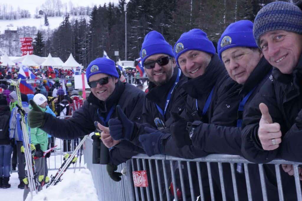 Team Adlerarena in Bad Mitterndorf - Skiflugschanze Kulm