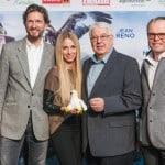 Michael Holzfeind von Adlerarena Burg Landskron bei Wie Brüder im Wind Weltpremiere in Österreich