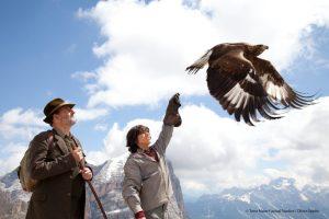 Wie Brüder im Wind - Adler aus Landskron im Film